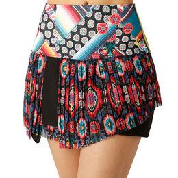 Hi-Cactus Blossom Pleated Skirt