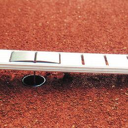 Ideala II 4+5 cm breit, mit Bodenanker in l-Form