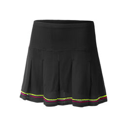 Long Micro Tuck Pleat Skirt Women