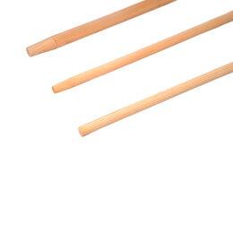 Holzstiel für Linienkehrbesen aus Holz 28mm, 1,50m