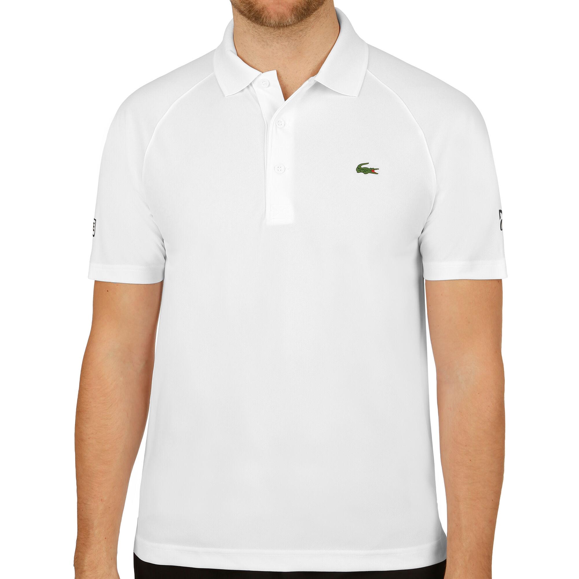 bc25b7b812 Lacoste Novak Djokovic Ribbed Collar Pólo Muži - Bílá