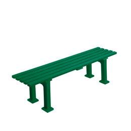 Tennisplatzsitzbank ohne Lehne, Länge 1,50 m, grün