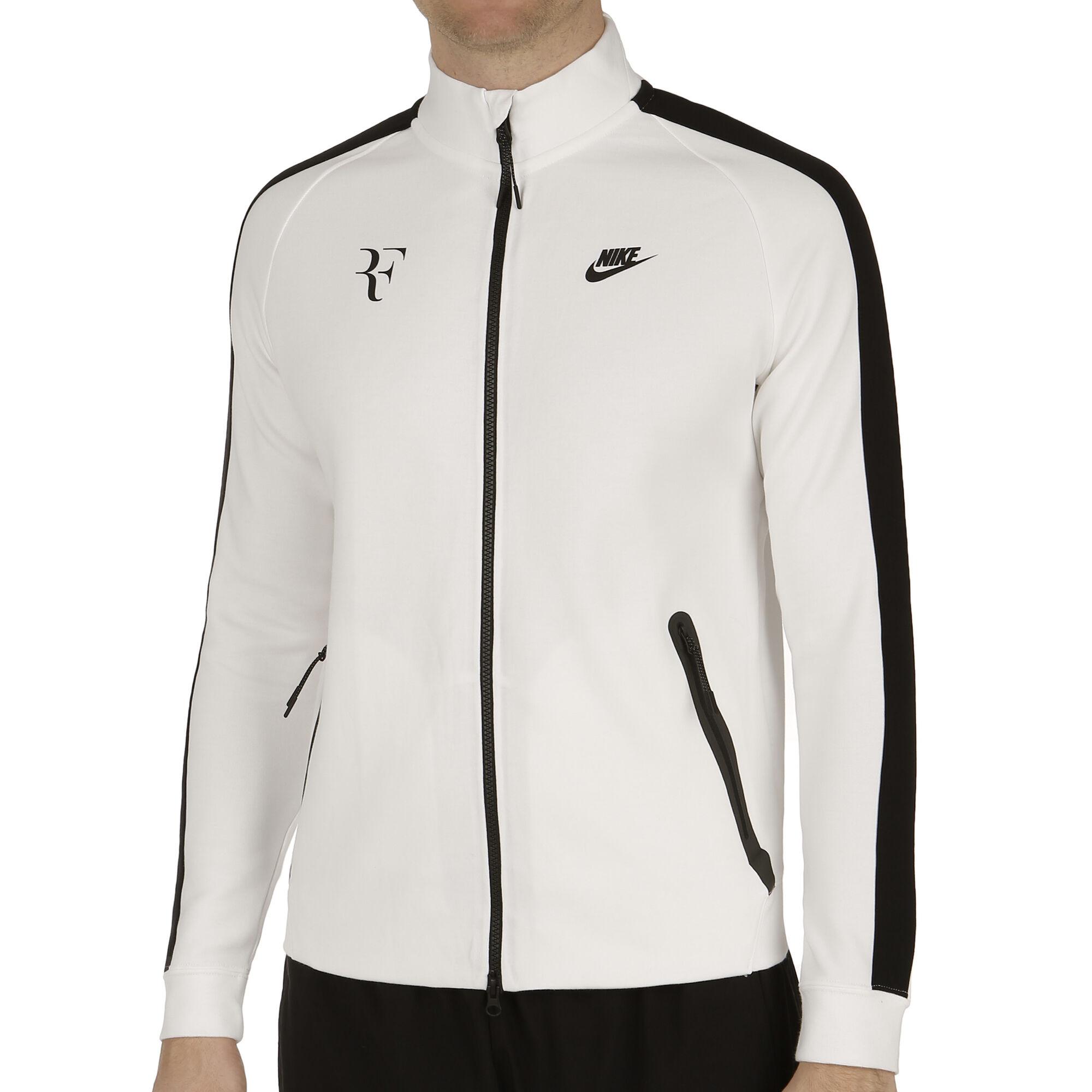 6b9aa550195 Nike Roger Federer Premier Tréninková Bunda Muži - Bílá