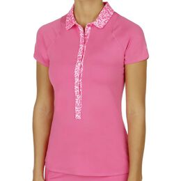 Advantage Printed Polo Women