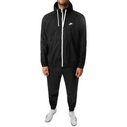 Sportswear Hooded Woven Tracksuit Men
