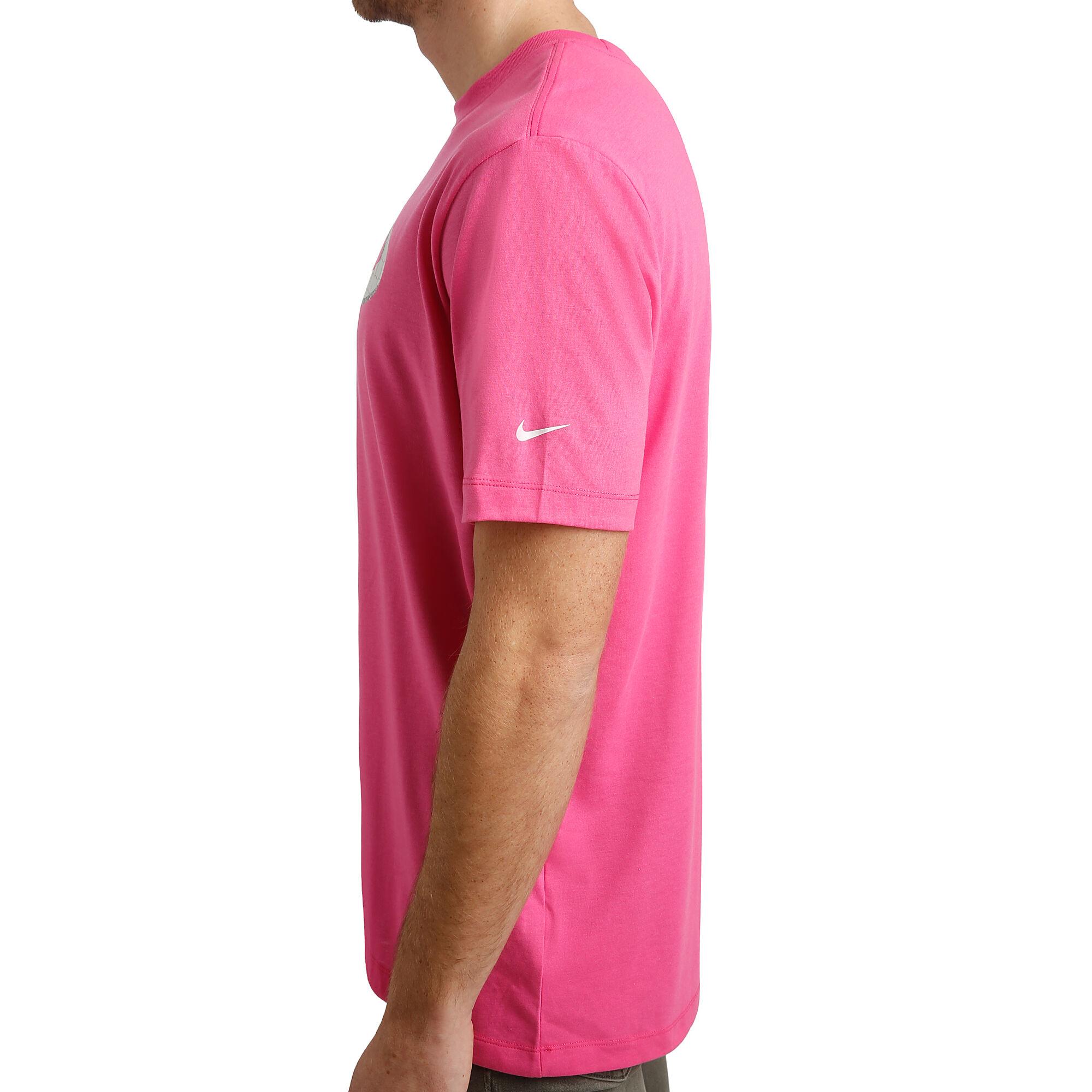 773bfe1484f6 Nike Rafael Nadal Court Dri-Fit Tričko Muži - Růžová