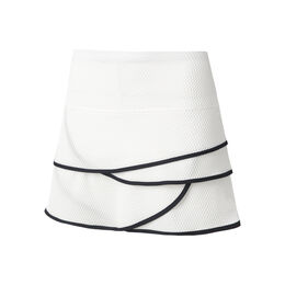 Long Wavy Scallop Skirt Women