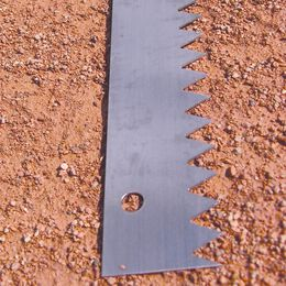Ersatz-Sägeblatt für Dreikant-Scharrierholz