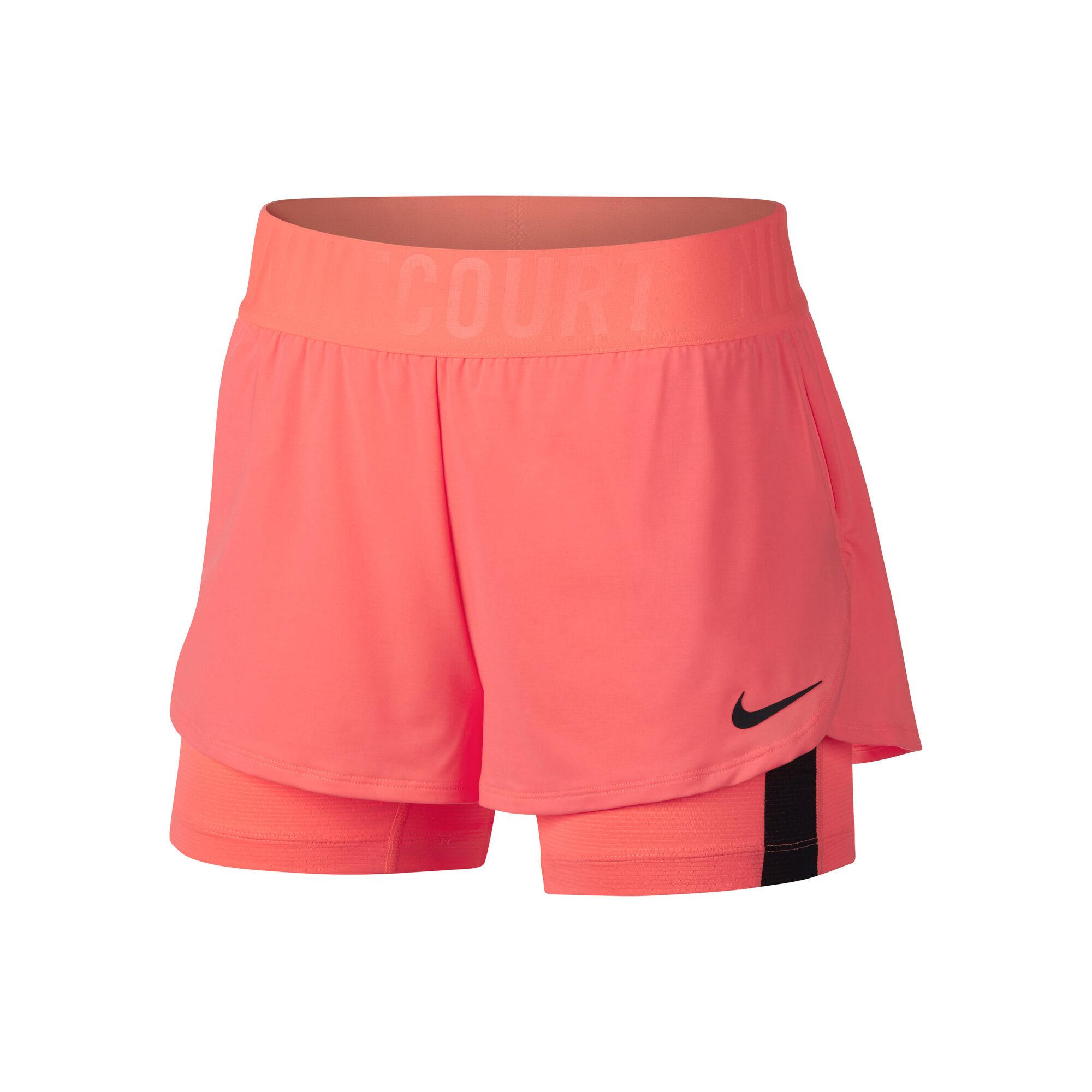 5a96ddc0b55 Nike Court Dry Ace Šortky Dámy - Korálová