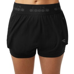 Double Layer Shorts Women