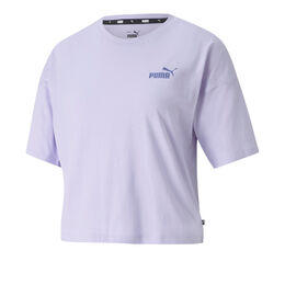 Essential Cropped Small Logo Tee