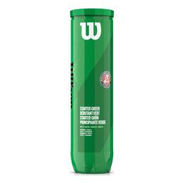 Roland Garros green Ball 4er